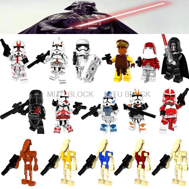 01 Big Bricks Custom Jar Jar Binks Star Wars Minifigs Mini figure 710