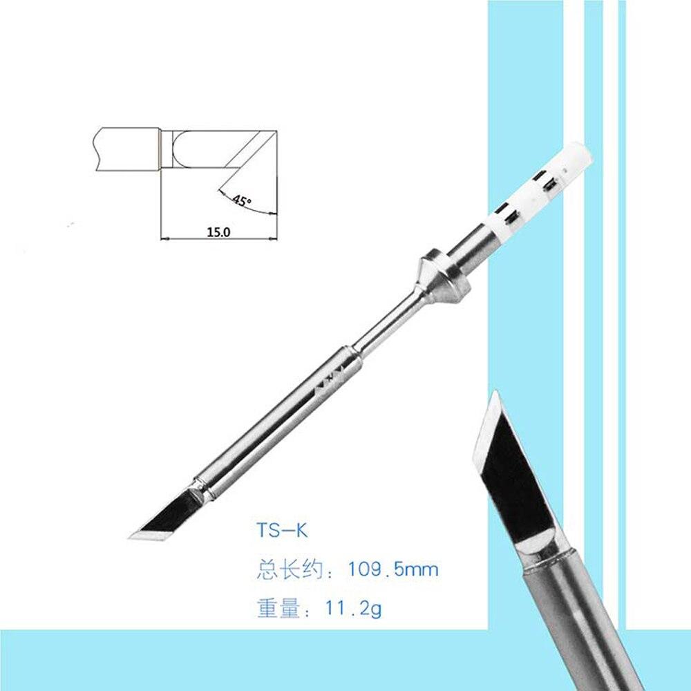 Replacement Solder Iron Tip Electrical Appliance Welding Tool for TS100 Digital Soldering Iron TS-I TS-KU TS-D24 TS-C4 TS-K