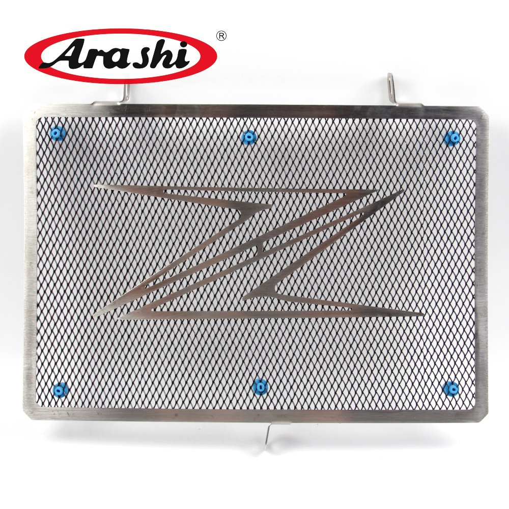 Arashi Z800 Accessories New Radiator Guard Grille Cover Protector For KAWASAKI Z800 2013 2014 2015 Protective Shield radiator protective cover grill guard grille protector for kawasaki versys 1000 2012 2013 2014 2015 2016