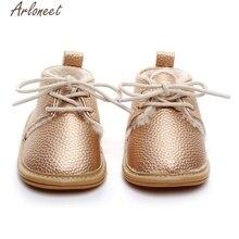 10 цветов, золотые модные первые ходунки, детская обувь, горячая Распродажа, милые однотонные Нескользящие кроссовки с мягкой подошвой, Прямая поставка ST20