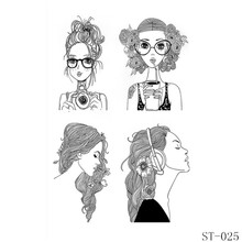 AZSG Pretty Fashion Girl Halloween Style Ghost Clear Stamps For DIY Scrapbooking/Card Making Decorative Rubber Stamp Crafts