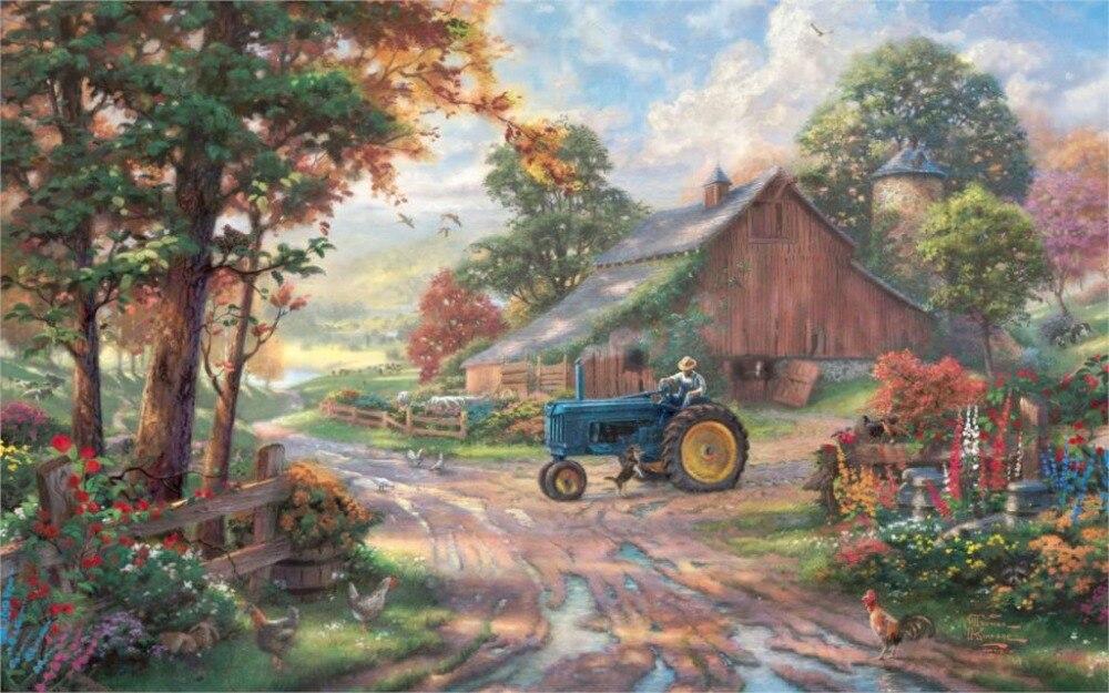 смотреть трактор для детей
