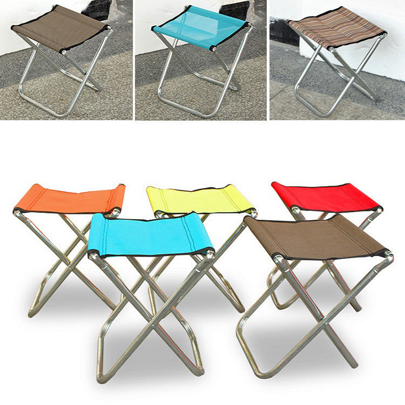 все цены на Household Supplies Leisure Portable Folding Oxford Cloth Stool Chair Personalized Travel Small Seating Net Cloth NXH1927 онлайн