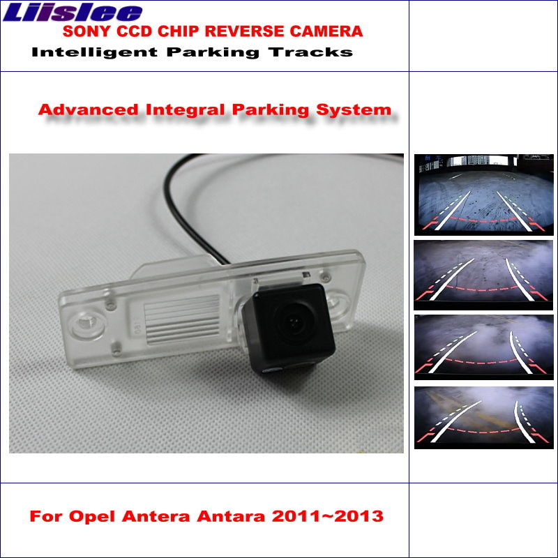 Liislee Alta Qualidade Intelligentized Para Antera Opel Antara 2011 ~ 2013 Reversa Parte Traseira Do Carro Da Câmera/HD Noite Visiong/PAL + NTSC