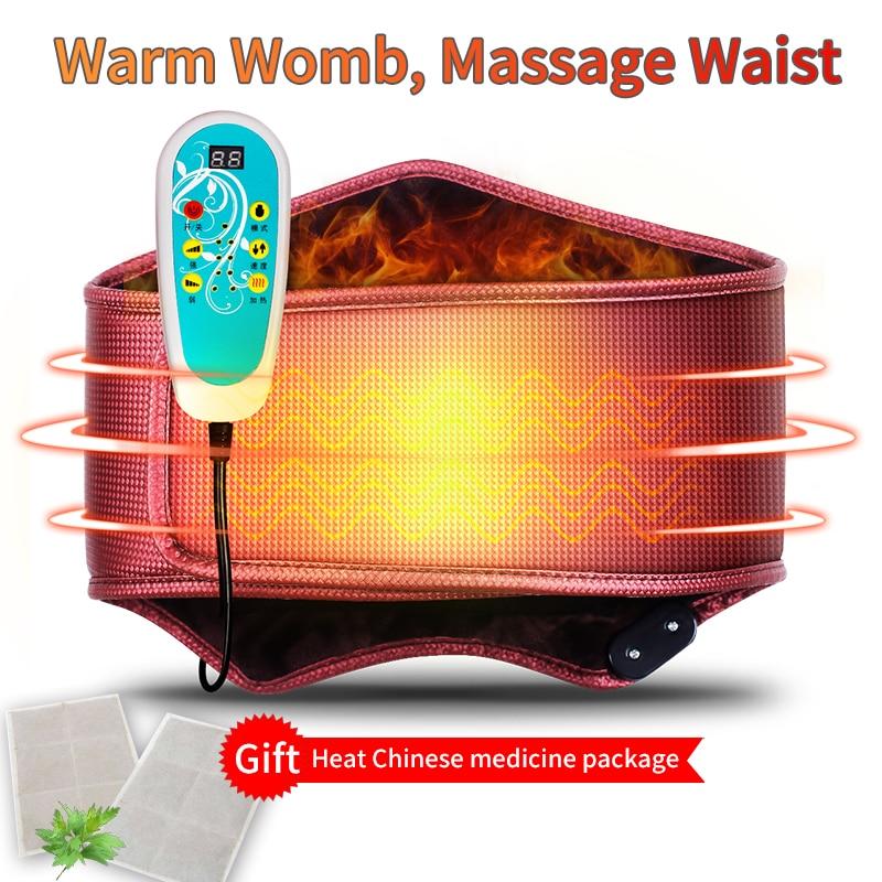MZ Electric отопление за защита на масаж талията форми талията колан за отслабване колан оформяне тяло електрическа поддръжка за моделиране на талията