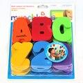 1 Unidades (36 Unids) Unisex Divertido Aprender Las Letras y Números de Palo en La Pared del Baño Flotante Bebés y Niños Baño Toy Educación Temprana