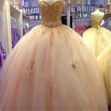 Bealegantom Lace Quinceanera Dresses 2019 Ball Gown Crystals Up Vestido De Debutante Puffy Sweet 16 Party Dress QA1457