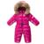 Mamelucos Del invierno Del Bebé Ropa de Invierno Niño Ropa de Bebé Niñas Establece Pato Recién Nacido Ropa de Bebé Bebé Infantil Capa De Nieve para Niños