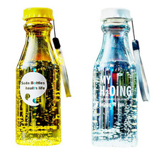 WTCABROE Unbreakable Plastic Kitchen Leak-proof portable Water Bottle