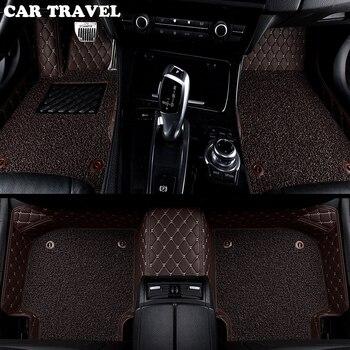 car floor mats for Fiat All Models Ottimo 500 Panda Punto palio Linea Sedici Viaggio Bravo Freemont car styling Custom floor mat