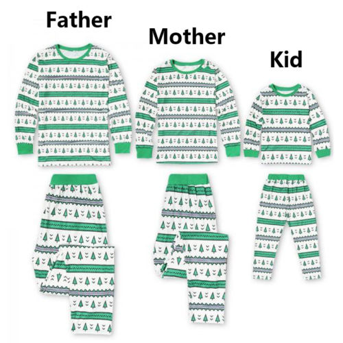 XMAS Christmas Kids Adults Family Pajamas Sets Sleepwear Nightwear Pyjamas Gifts