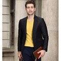 Мужчины Пиджак Новое Прибытие пользовательские Одежда С Сплошной Цвет Slim Fit Формальный Стиль Одна Кнопка Деловой Костюм