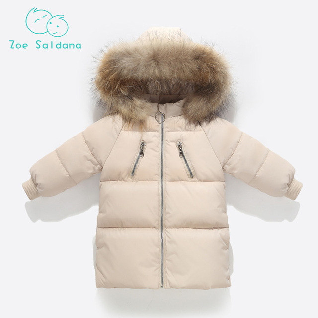 Best Price  Clothes For Girls Kids Warm Outerwear Duck Down Jacket For Girl Winter Coat Boy Girl Overcoat Clothes Parkas