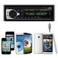 Mecall Bluetooth Estéreo Del Coche CD de Audio En el Tablero de FM Receptor de Entrada Aux SD USB MP3 de Radio al por mayor Oct21