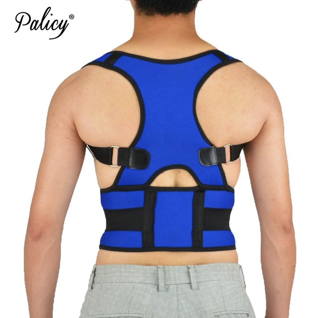 Palicy Posture Corrector for Men Women Shoulder Back Brace Body Shaper Support for Teenager Children Adult with Health Care
