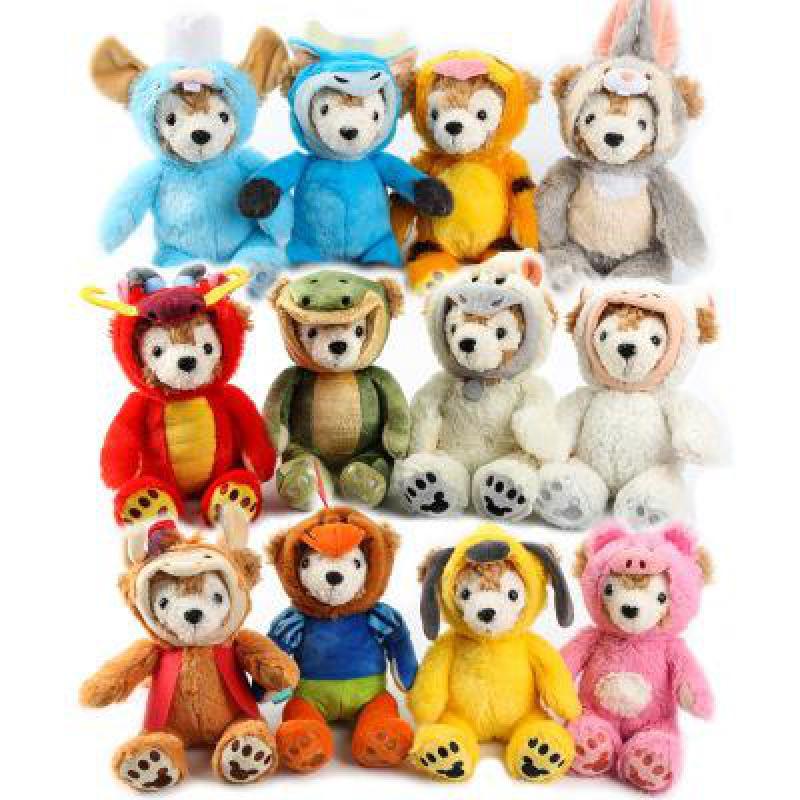 d24d37f90bad couple duffy bear shelliemay bear crossbody bag plush toy coin purse ...