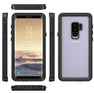 Image 4 - Waterproof Case for Samsung Galaxy S9 S9plus Shockproof Dirtproof Full Sealed Case Cover for Samsung S 9 S9 Plus Swimming Case