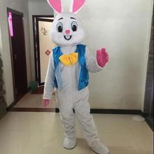 Пасхальный кролик костюм талисмана ошибки кролик, заяц взрослых Необычные платья мультфильм костюм кунг-фу панды