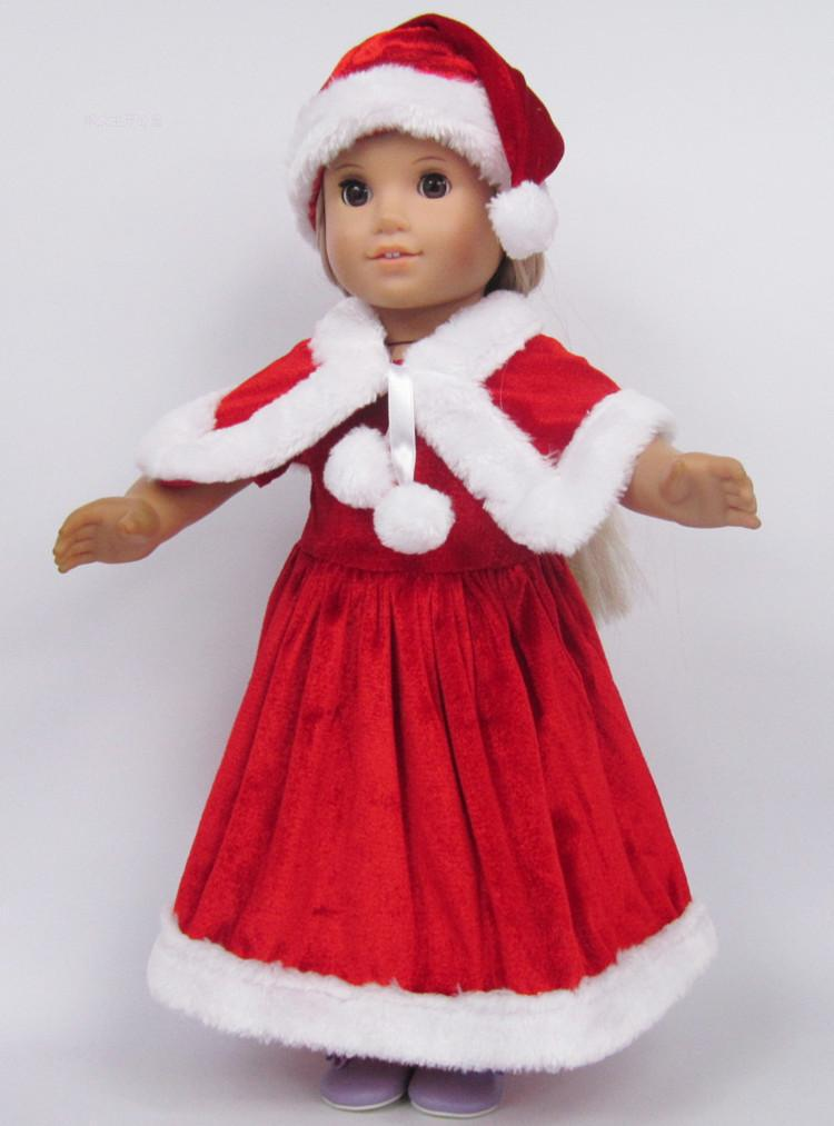 free shipping Christmas gift 18 inch doll clothes american girl ...