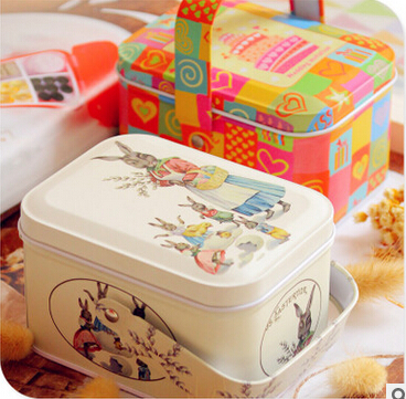 Easter style peter rabbit tin box with arched lid for cookie candy easter style peter rabbit tin box with arched lid for cookie candy storage gift packing decorative container 10pcslot in gift bags wrapping supplies from negle Images