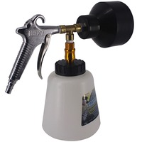 High Pressure Cleaning Gun Car Washing Kit for Interior Deep Cleaning with Air Brush Horn Head Cockpit Care Car Wash