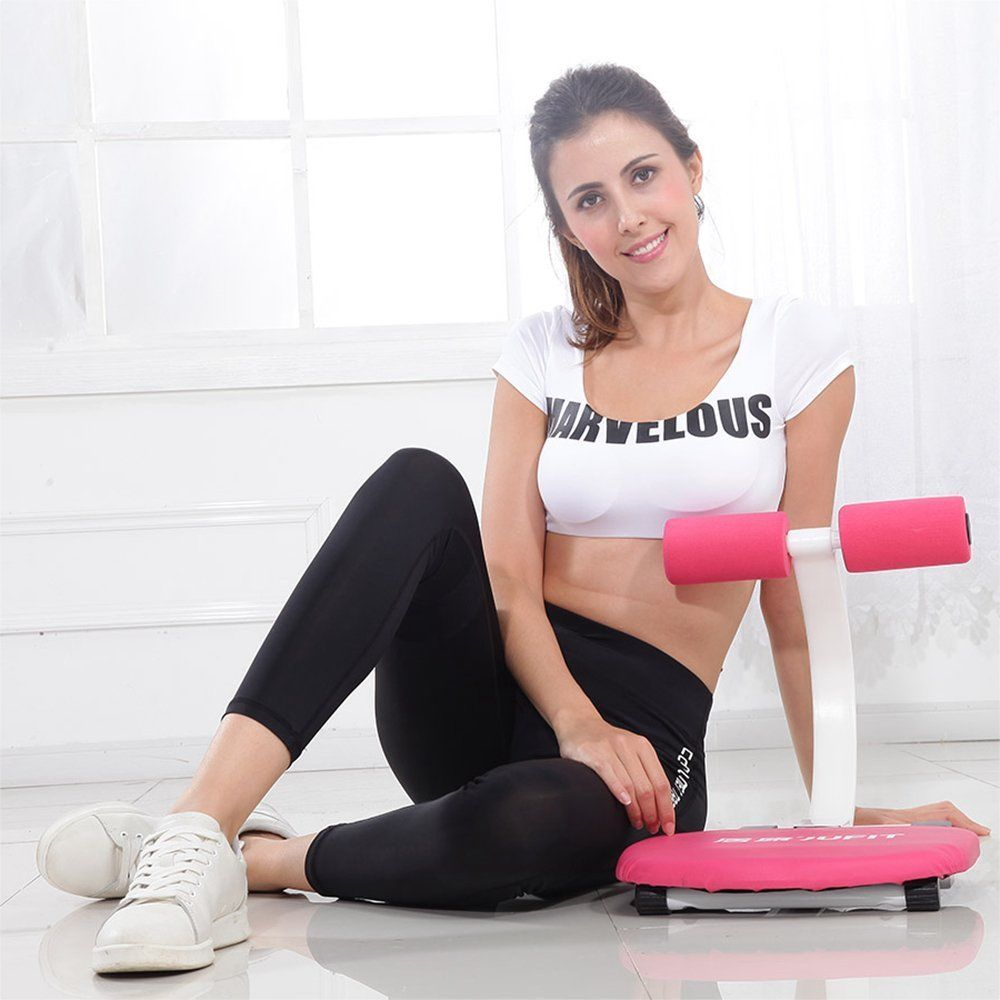 JUFIT Sit Up Abdominal Benches Board abdominal Exerciser Equipments Training Muscles Mini Fold Sports Fitness Machines