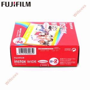 Image 5 - Tout nouveau Fujifilm Instax Film large arc en ciel Twin Packs (20 Photos) pour appareil Photo instantané Instax 200 210 livraison gratuite