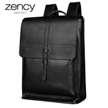 Men's 100% Genuine Leather High Capacity Backpacks High Quality Winter Cool Fashion Travel Bags For Male Business Laptop Packs