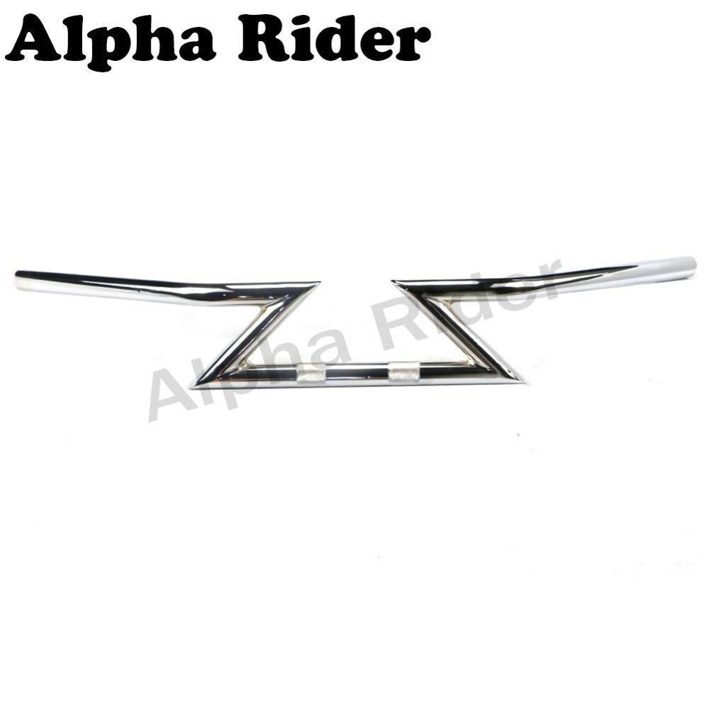 Motorcycle Raised Drag Z Bars 7/8 22MM Handlebars Riser Lever for Triumph Daytona 600 650 675 675R 900 955i 1200 Speed Triple R