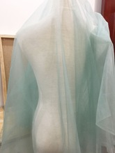 5 yards Smoked Teal Bridal Illusion Tulle for Veils, Garters, Costumes, Flower Girl Dress