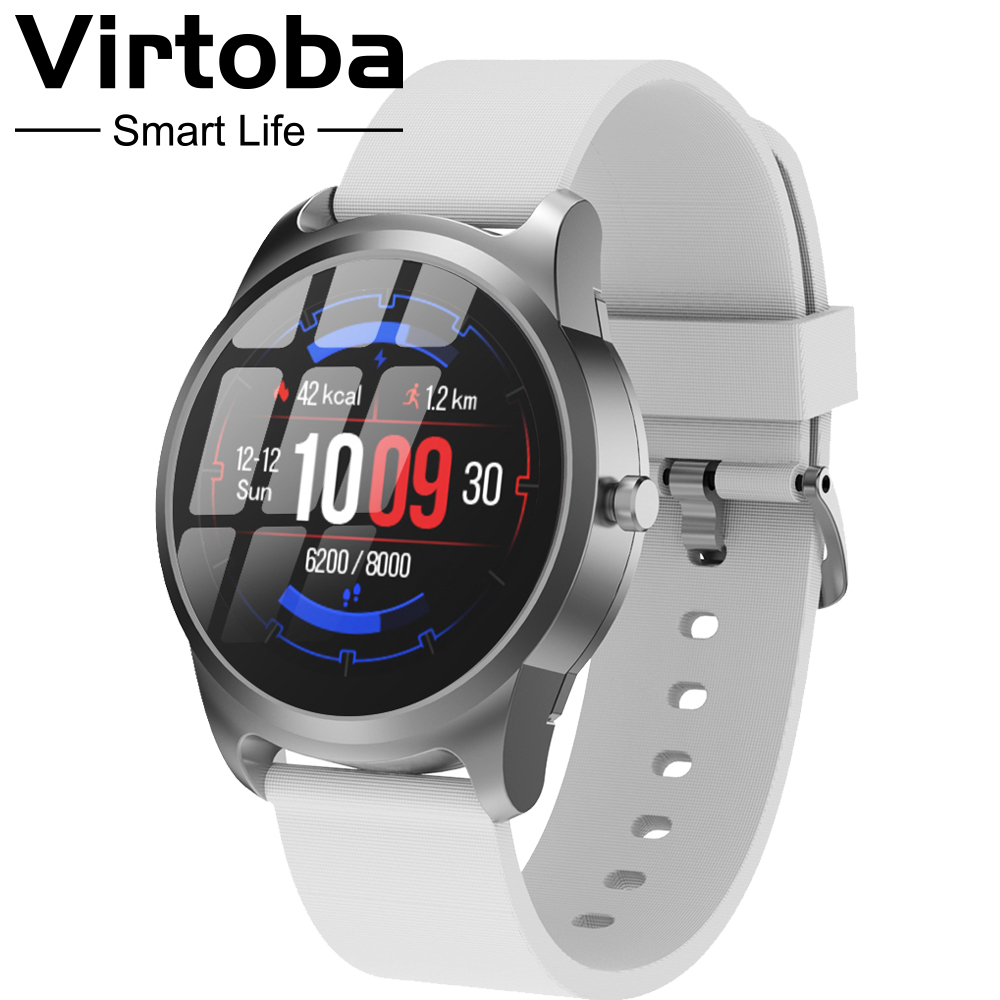 Virtoba CN28 Bluetooth Android IOS Smart Watch 45 days Standby IP68 Waterproof Fitness Tracker Sports Smartwatch For Men Women-in Smart Watches from Consumer Electronics