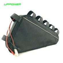 US UE Wolne Podatku Triangle bag litowo-jonowy akumulator 48 v Rower elektryczny akumulator 48 V 15Ah litowo-jonowa bateria do 8fun 750 W silnik