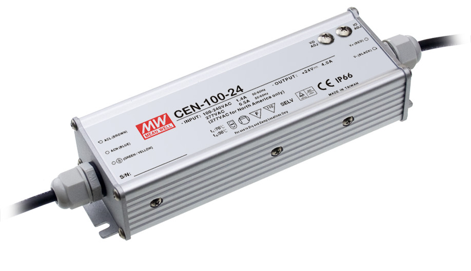 ФОТО [PowerNex] MEAN WELL original CEN-100-42 42V 2.28A meanwell CEN-100 42V 95.76W Single Output LED Power Supply