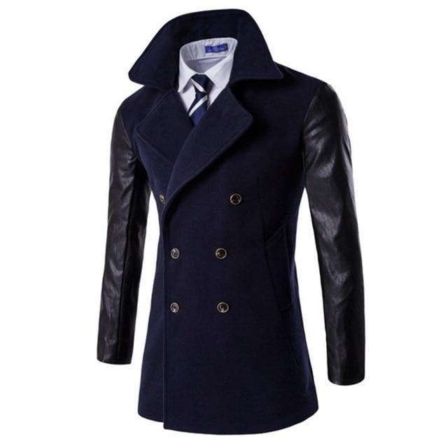 Of Of Of New Section Men's 2017 Long Fashion Coat Urban Zz1Pwq