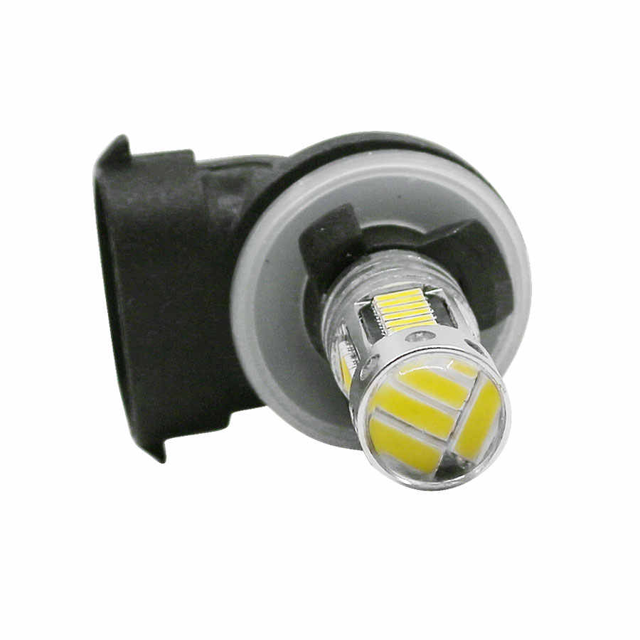 YCCPAUTO 2Pcs H27 880 881 ไฟ LED หมอก H27W/2 H27W2 รถหลอดไฟ 4014 30 SMD ขับรถหมอกโคมไฟ DRL สีขาวสีเหลืองสีฟ้า 12V