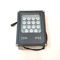 YiiSPO CCTV Array IR illuminator infrared lamp 15pcs Array Led IR Outdoor IP65 Waterproof Night Vision for CCTV Camera