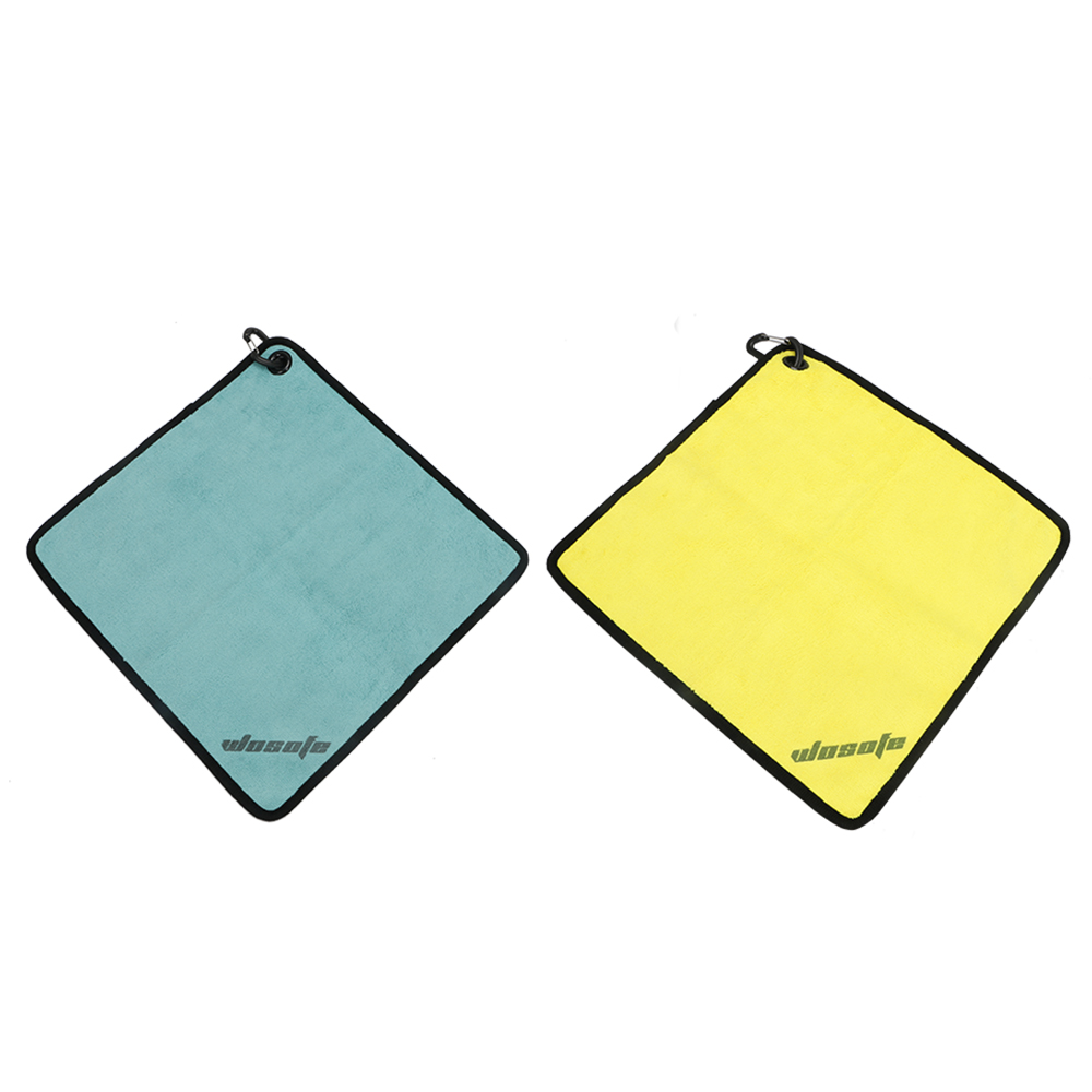 Golf Square Towel Two Colors Optional