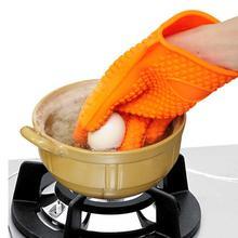 Силиконовые перчатки Кухня термостойкие перчатки Температура стойкие перчатки приготовление, Выпекание, барбекю печь перчатки Кухня аксессуары