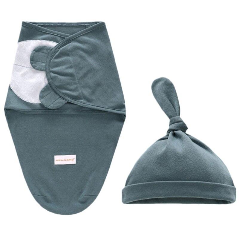 Baby Envelope Swaddle Blanket Newborn Cotton Infant Cocoon Sleep Sack Baby Swaddling Wrap Bedding 0-6 Month