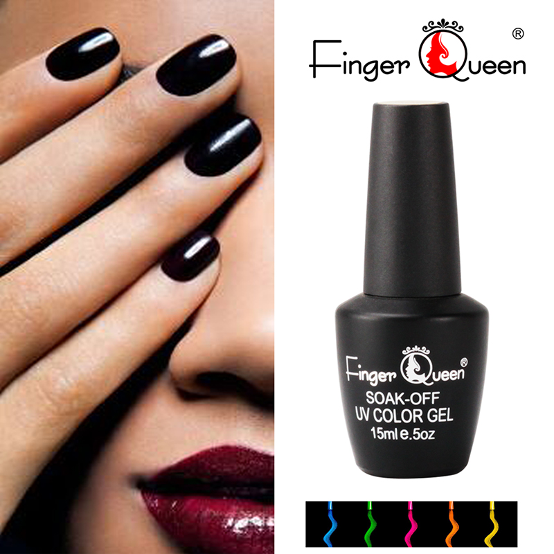 FingerQueen 1pc 15ml 168 Colors Uv Gel Polish Famous Brand Soak Off ...