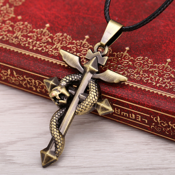 Collar metálico de bronce de Fullmetal Alchemist Fullmetal Alchemist