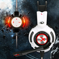 Xiberia K3 Headsets Gaming Headphones with Microphone Surround Sound Earphones Glowing LED Light USB Shock Noise Cancell for PC