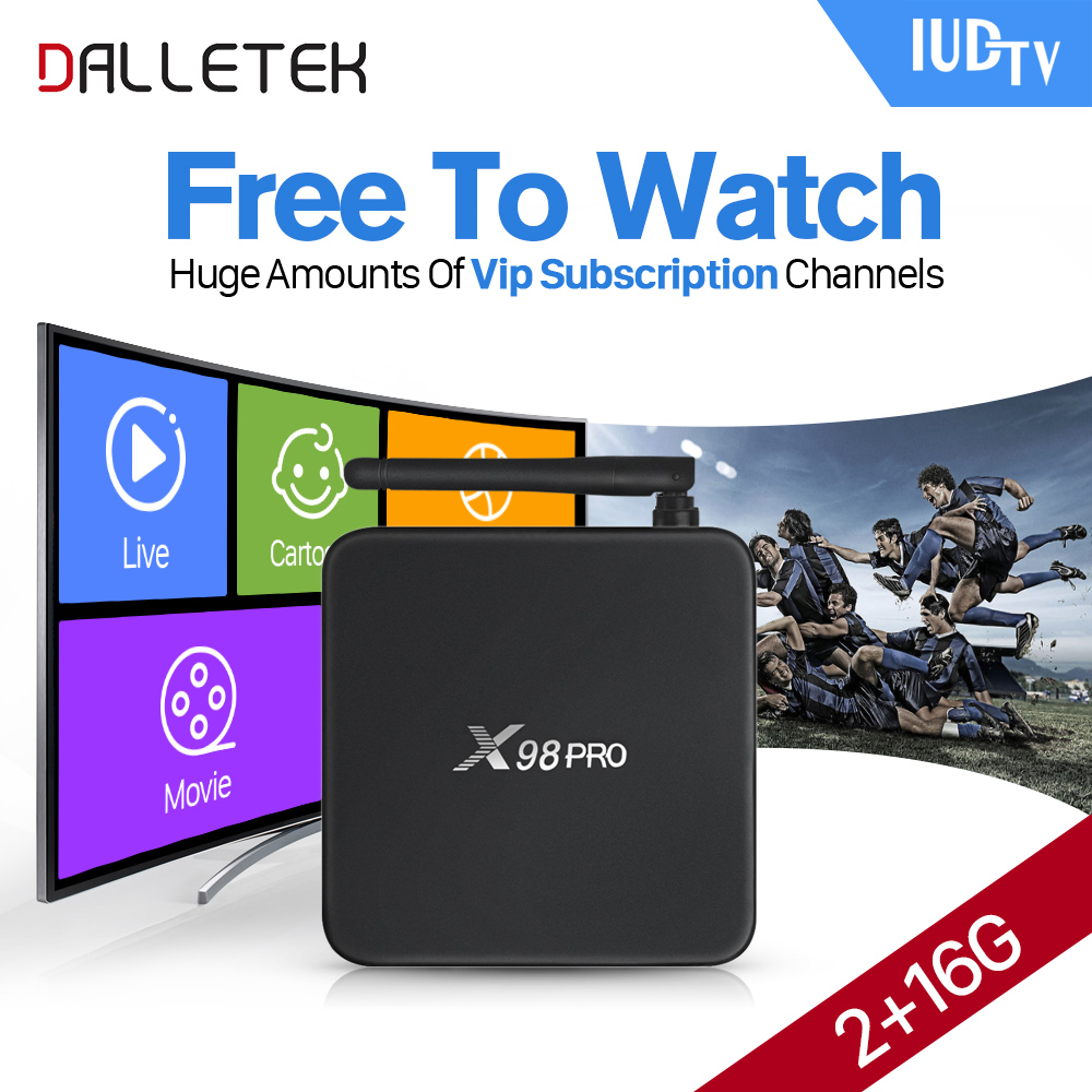 Dalletektv X98PRO S912 Android TV Box 2g ram Media Player 1 Year 2000+Live HD IPTV Europe Arabic Channels IUDTV IPTV Account arabic iptv europe subscription 1 year qhdtv account 4k hd live sport channels iptv box android 6 0 tv box 2g 16g media player