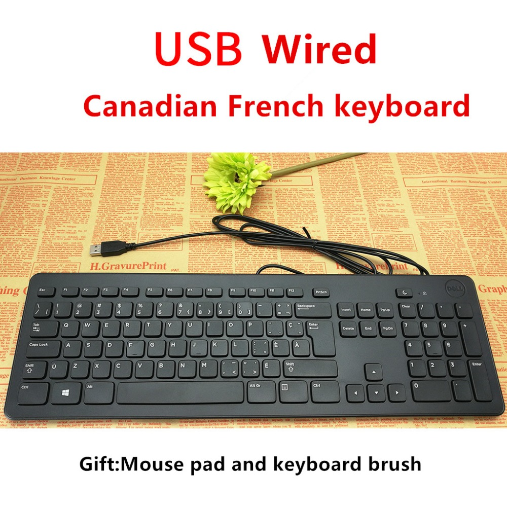 Online Shop Maorong Trading Canadian French Keyboard Usb Cable Mouse Dell For Computer Laptop Desktop Aliexpress Mobile