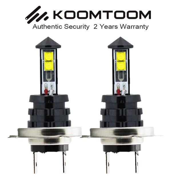 Een Set H7 LED Lamp Auto Led verlichting Auto Fog Lamp 9 W Wit Licht ...