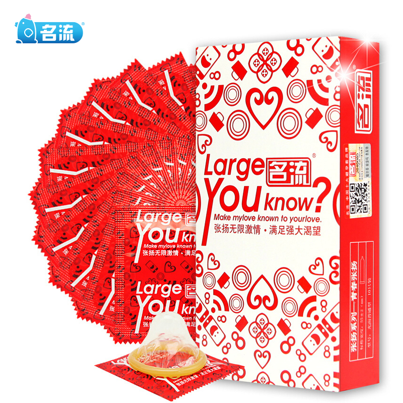 10pcs Large Size Condoms For Big Penis True Man Plus Size 55mm Condones Ultra Safe Penis Sleeve Natural Latex Contraception Tool