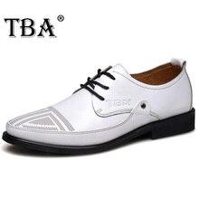 TBA 2016 Итальянский Корова Сплит Мужчины Платье Обувь Оксфорды Мода обувь Белое Кружево Обувь Бизнес Мужчины Роскошные Мужчины Свадебные Туфли 5833