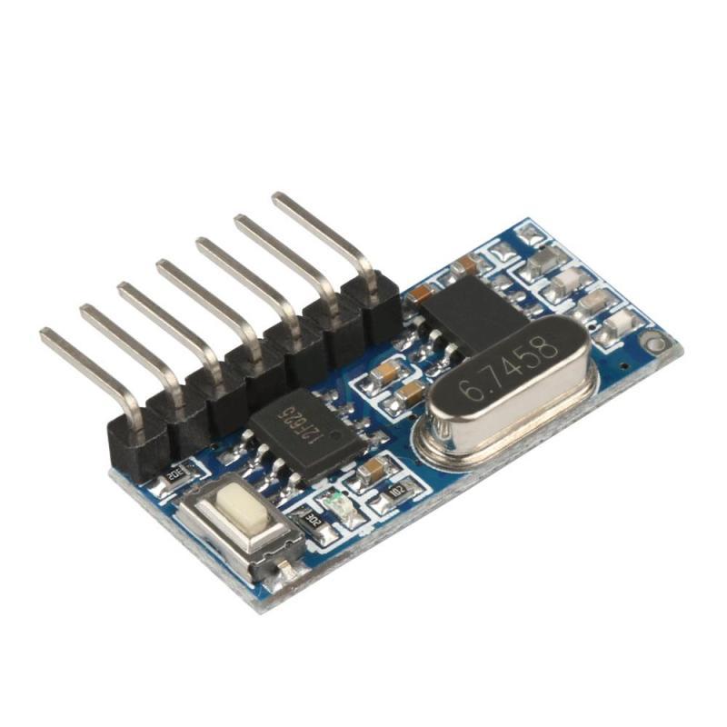 Image 2 - 433 МГц сверхгетеродинный беспроводной радиочастотный передатчик и приемник модуль с антенной дистанционное управление переключатель для ардуино uno наборы Z25-in Пульты ДУ from Бытовая электроника
