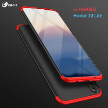 GKK Original case for Huawei honor 10 lite 8 8c Case 360 Full Protection 3 In 1 Anti-knock Matte Cover Honor 8 8c Fundas Coque(China)