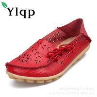 Shoes Woman 2017 Genuine Leather Women Shoes Flats 9 Colors Loafers Slip On Women S Flat